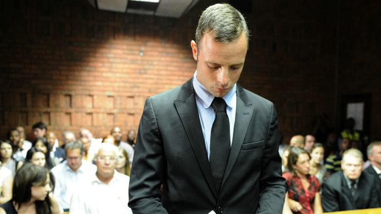 Oscar Pistorius devant le tribunal de Pretoria