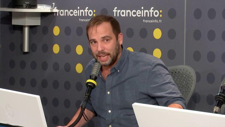 Arnaud Chiche, du collectifSanté en danger, jeudi 15 octobre 2020. (FRANCEINFO / RADIO FRANCE)