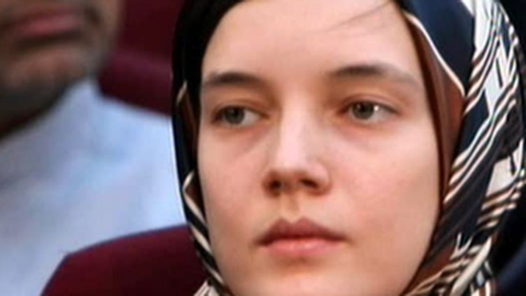 Clotilde Reiss à son procès à Téhéran (08/08/09) (France 2)