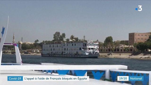 Covid-19 : des Français bloqués sur un bateau de croisière sur le Nil