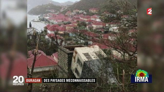Ouragan Irma : des paysages méconnaissables