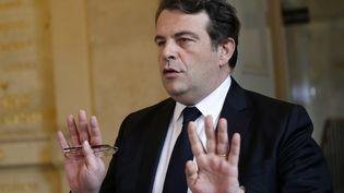 Thierry Solère a démissionné de ses fonctions de porte-parole de la campagne de François Fillon le 3 mars. (PATRICK KOVARIK / AFP)