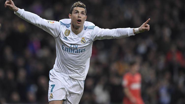 Cristiano Ronaldo exulte (GABRIEL BOUYS / AFP)