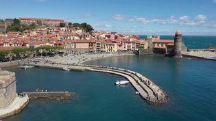 Pont de l'Ascension : Collioure reprend des couleurs grâce aux touristes (Capture d'écran France 2)