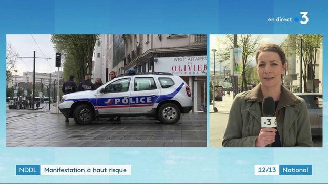 NDDL : manifestations à haut risque à Nantes