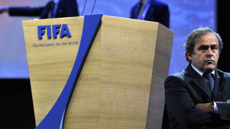 Le président de l'UEFA, Michel Platini, ambitionne d'être à la tête de la FIFA