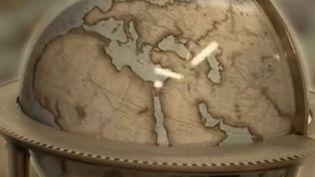 map monde (FRANCE 2)