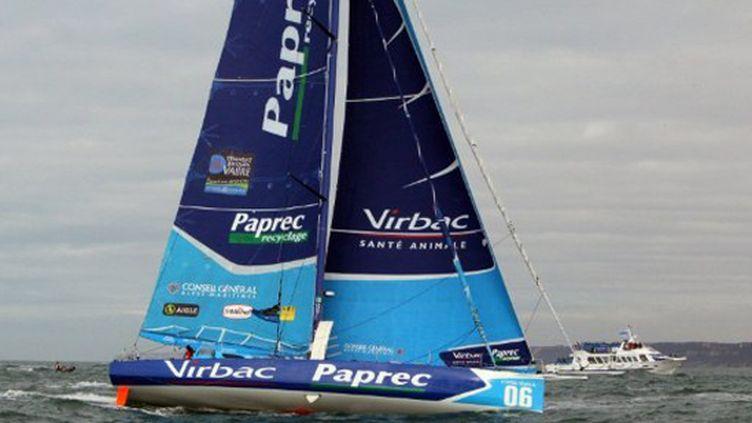 Le voilier Virbac-Paprec de Jean-Pierre Dick et Jérémie Beyou
