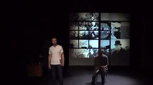 Une pièce actuellement jouée au théâtre Michel à Paris rend hommage au mathématicien Alan Turing, longtemps oublié. (FRANCE 3)
