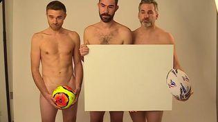 Confinement : des commerçants posent nus pour se faire entendre (France 3)