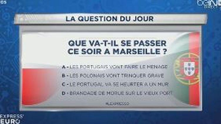 Capture d'écran de la question du jour de beIN Sports du jeudi 30 juin. (BEIN SPORTS)