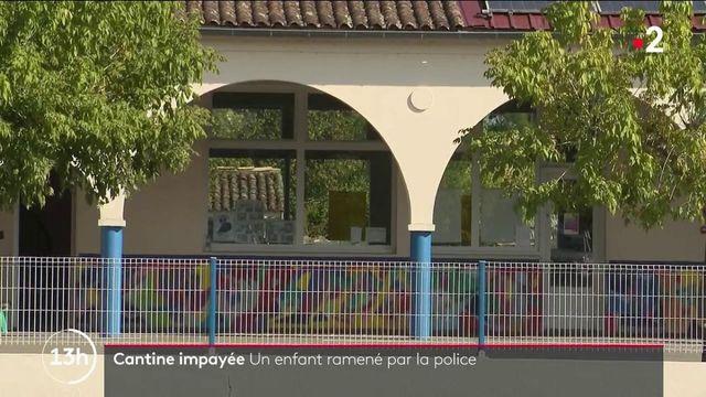 Gironde : un enfant de sept privé de cantine et ramené chez lui par la police pour cause d'impayés