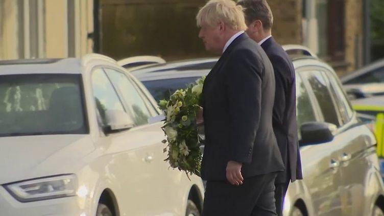 Député poignardé à mort au Royaume-Uni : l'hommage de Boris Johnson à David Amess  (FRANCE 3)