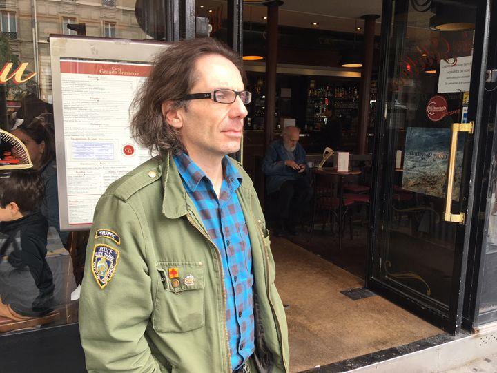 Jean-Baptiste Thoret, historien du cinéma et réalisateur (2019). (Jacky Bornet / Culturebox)