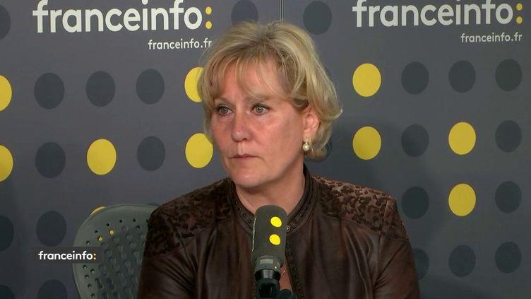 Nadine Morano,eurodéputée Les Républicains. (FRANCEINFO)
