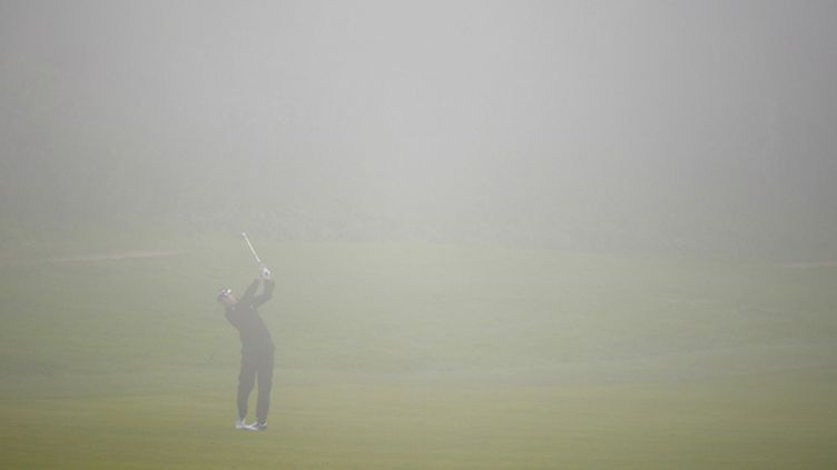 Brouillard sur le green (HARRY HOW / GETTY IMAGES NORTH AMERICA)