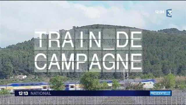 """""""Train de campagne"""" : escale à Carnoules pour connaître les attentes des électeurs"""