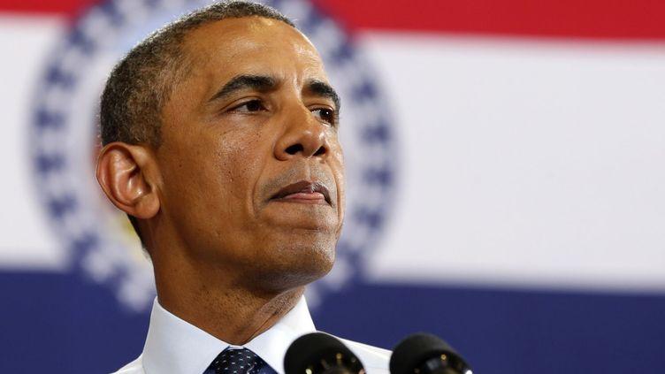 Le président des Etats-Unis, Barack Obama, à l'University of Central Missour à Warrenburg (Missouri) le 24 juin 2013. (Reuters - Kevin Lamarque )