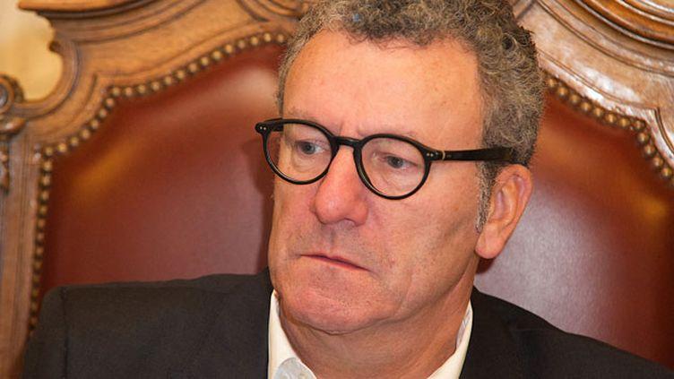 (Yvan Mayeur, le maire de Bruxelles, a décidé mercredi l'annulation du d'artifice et des festivités prévus à l'occasion du réveillon du Nouvel An à Bruxelles en raison de menaces terroristes © Maxppp)