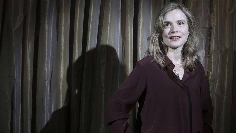 La comédienne Isabelle Carré, décembre 2017  (ERIC DESSSONS/JDD/SIPA)
