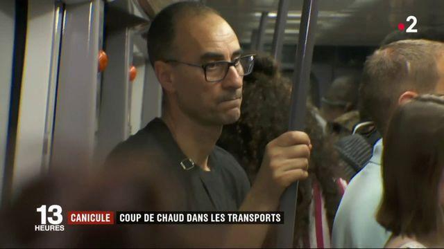Canicule : quand les transports deviennent un cauchemar