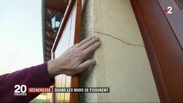 Sécheresse : les murs des maisons se fissurent en Corrèze