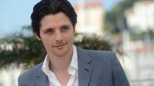 L'acteur français Raphaël Personnaz, au festival de Cannes. (ANNE-CHRISTINE POUJOULAT / AFP)