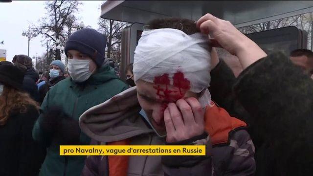 Russie : les partisans d'Alexeï Navalny arrêtés en nombre
