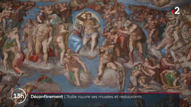 Italie : musées et restaurants rouvrent leurs portes