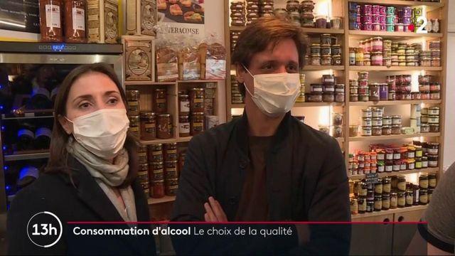 Consommation : les Français se tournent vers l'alcool de qualité