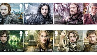 La série Game of Thrones mise à l'honneur par la poste britannique  (Handout / ROYAL MAIL / HBO / AFP)