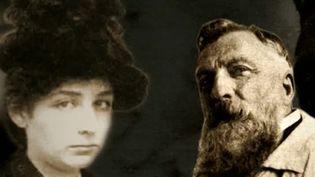 Portraits de Camille Claudel et Auguste Rodin  (France 3 / culturebox / capture d'écran)