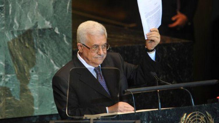 Mahmoud Abbas à l'Onu, le 23 septembre 2011. (OSCAR FRASSER / NOTIMEX)