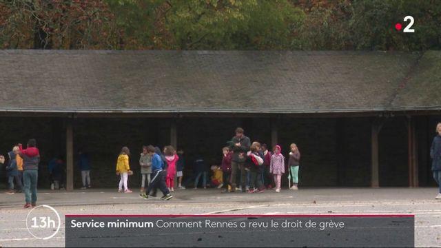 Rennes : des mesures pour encadrer le droit de grève des fonctionnaires