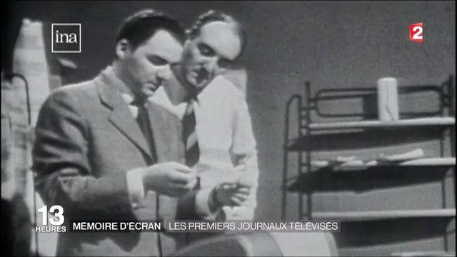 Mémoire d'écran : les premiers journaux télévisés