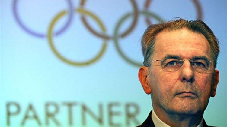 Jacques Rogge (Président du Comité international olympique)
