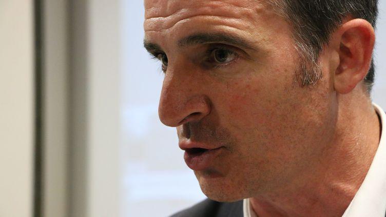 Éric Piolle, maire de Grenoble. (JEAN-BENOV?T VIGNY / MAXPPP)