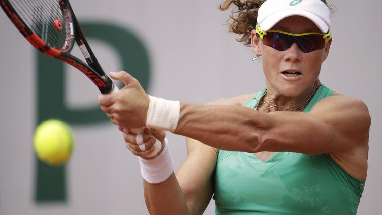 L'Australienne Samantha Stosur (KENZO TRIBOUILLARD / AFP)