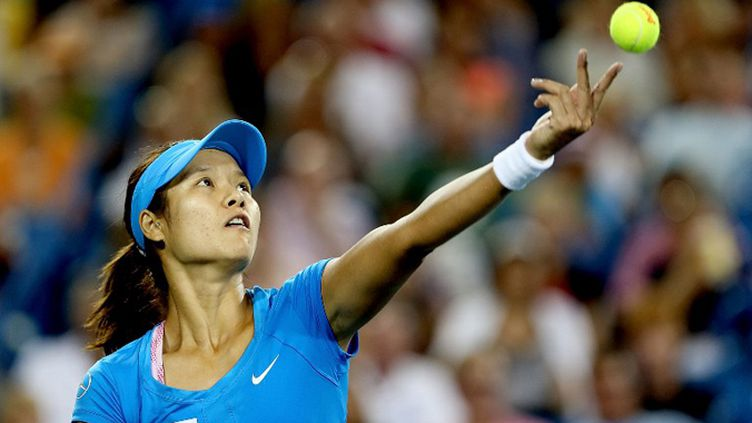Li Na à Wimbledon (MATTHEW STOCKMAN / GETTY IMAGES NORTH AMERICA)
