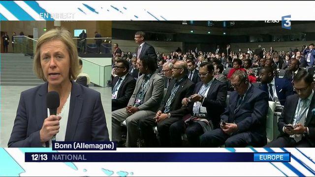 COP23 : Emmanuel Macron en Allemagne pour relancer le combat climatique