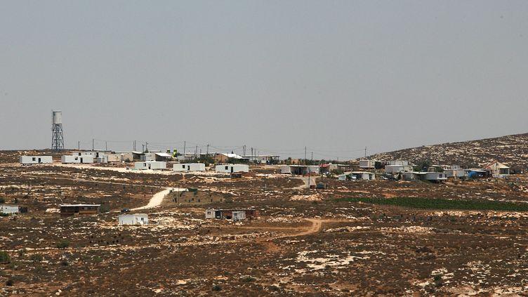La colonie israélienne de Kida, en Cisjordanie, le 20 juillet 2009. (GALI TIBBON / AFP)