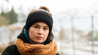 Luisa Neubauer, militante écologiste allemande. (ANDREAS ARNOLD / DPA / MAXPPP)