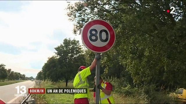 80km/h : retour sur un an de polémiques