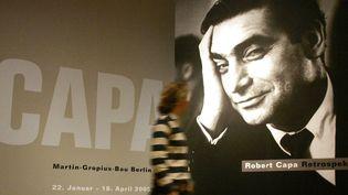Retrospective Robert Capa, Berlin 2005  (Johannes Eisele/ DDP/ AFP)