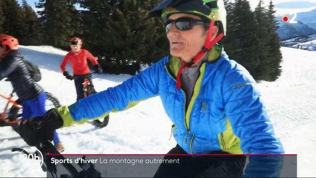 Sports d'hiver : privés de ski alpin, les touristes découvrent de nouveaux plaisirs à la montagne