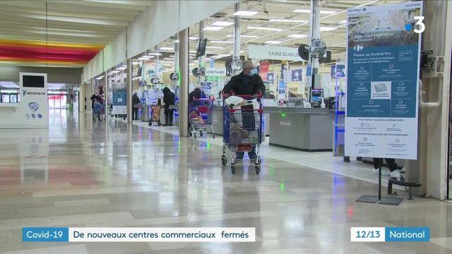 Covid-19 : la fermeture des grandes surfaces affecte lescommerçants