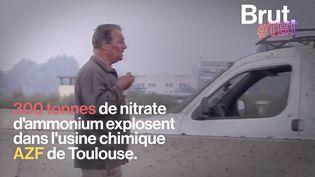 VIDEO. Il y a 20 ans, Toulouse était ravagée par l'explosion de l'usine AZF (BRUT)