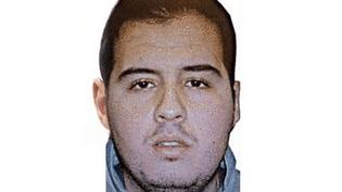 Ibrahim El Barkaoui est l'un des kamikazes qui se sontfait exploser à l'aéroport de Bruxelles mardi 22 mars. (INTERPOL / AFP)