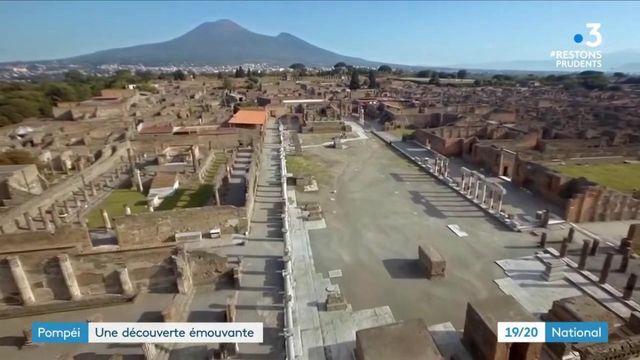 Italie : une découverte incroyable à Pompei