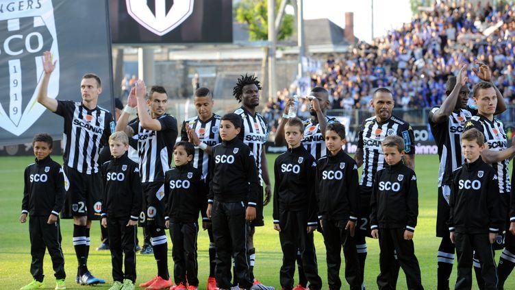 L'équipe du SCO Angers vise le maintien cette saison (JEAN-FRANCOIS MONIER / AFP)